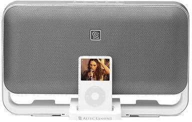 Altec Lansing M602 Speaker System for iPod - White