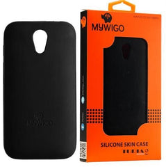 MyWiGo CO4192N Silicon Black bumper for MyWigo Turia 2 - Black