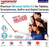 Promate monoPro-Uni Premium Wireless Selfie Kit for All Tablets