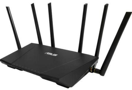 Asus RT-AC3200 Tri-band Wireless Gigabit Router- 4x RJ45 for 10/100/1000/Gigabits BaseT for LAN