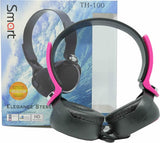 UniQue TH100 Smart Stereo Headset - Pink