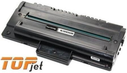 TopJet Generic Replacement Toner Cartridge for Samsung MLT-D109 - Page Yield:2000 pages with 5% coverage for SCX-4300 Printer-Black