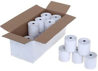 UniQue Thermal 57mm X 40mm Credit Card Paper Rolls- 100 rolls per box