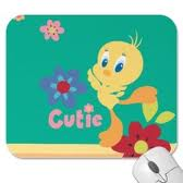 Tweety Mouse Pad -Colour: GREEN/YELLOW/BLUE