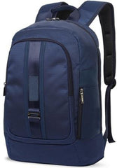Macaroni Zaino 17 inch  Dotted Nylon Backpack-Blue