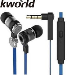 Kworld KW-S28 In-Ear Elite Mobile Gaming Earphones Stereo Silicone Earbuds with In-line intelligent Control Microphone
