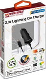 Promate proCharge.LT Multifunction Lightning car charger for iPad4 - Zasttra.com