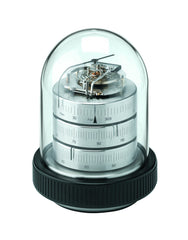 Barigo 3031.1 - Decorative Dome Weather Station (Nickel Plated Brass)