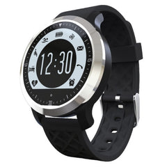 F69 Bluetooth 4.0 Waterproof IP68 Fitness Tracker Smart Sport Watch Support Swimming Heart Rate Pedometer Sleep Monitor Sedentary Reminder(Black)