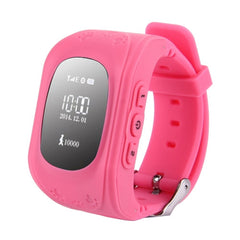 Q50 GPS Tracker Smart Watch for Kids Support SIM Card / Anti-lost / SOS Call / Location Finder / Remote Monitor / Pedometer(Pink)