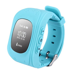 Q50 GPS Tracker Smart Watch for Kids Support SIM Card / Anti-lost / SOS Call / Location Finder / Remote Monitor / Pedometer(Blue)