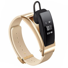 Huawei TalkBand B3 5 Modes Bluetooth 4.2 Headset Business Smart Bracelet for Android / iOS Support Fitness Tracker / Pedometer / Reminder Call / Anti-lost/ Sleep Monitor(Gold)