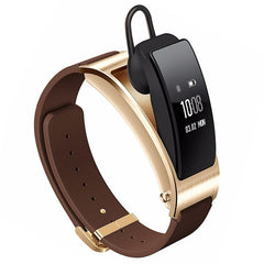 Huawei TalkBand B3 5 Modes Bluetooth 4.2 Headset Business Smart Bracelet for Android / iOS Support Fitness Tracker / Pedometer / Reminder Call / Anti-lost/ Sleep Monitor(Brown)