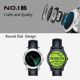 NO.1 D5 Bluetooth Smart Watch, Support Heart Rate / Pedometer / Barometer(Silver) - Zasttra.com - 4