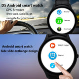 NO.1 D5 Bluetooth Smart Watch, Support Heart Rate / Pedometer / Barometer(Silver) - Zasttra.com - 7