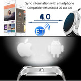 NO.1 D5 Bluetooth Smart Watch, Support Heart Rate / Pedometer / Barometer(Silver) - Zasttra.com - 9