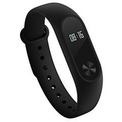 Original Xiaomi Mi Band 2 Bluetooth 4.0 IP67 Waterproof Dustproof Smart Bracelet with OLED Display Screen & Circular Touch Button & Heart Rate Monitor & Sport Tracker & Sleep Monitor & Call Reminder For Android 4.4 OS and IOS 7.0 or Above Devices(Black)