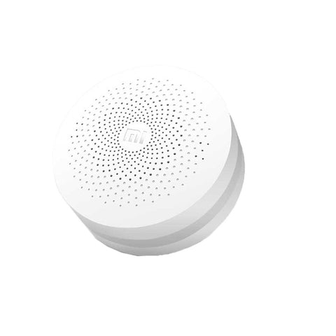 Xiaomi Intelligent Multifunctional Gateway Upgraded Version for Xiaomi Smart Home Suite Devices, Support Android 4.0 and IOS 7.0 Above(White)