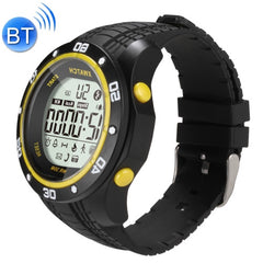 XWATCH Waterproof Bluetooth Smart Watch Support Pedometer / Calls to Remind / Remote Control Camera / Intelligent Alarm(Yellow)