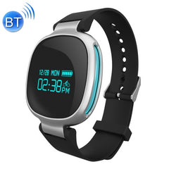 E08 0.96 inch Screen Bluetooth 6-axis Light Sensor Smart Bracelet Support Hear Rate Monitor / Pedometer / Calls to Remind / Sleep Monitoring / Remote Capture / Anti-lost(Blue)