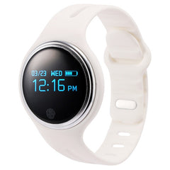 E07 Bluetooth 4.0 Life Waterproof Smart Watch Bracelet for iOS / Android Mobile Phone Phone Location / Sleep Monitor / GPS Sport Tracker / Sedentary Reminder / Camera Remote Control(White)