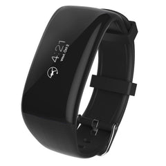 X16 Fitness Tracker Bluetooth Smart Bracelet for iOS / Android Smart Phone  Heart Rate / Anti-lost / Telemeter / Pedometer / Sleep Monitor(Black)