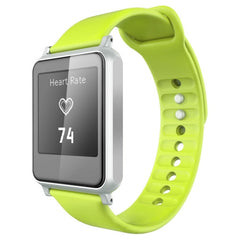 i7 2.5D Screen Heart Rate Bluetooth Smart Watch  Anti-lost / Pedometer / Sleep Monitor / Camera Remote Control(Green)