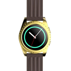 GS3 Heart Rate Bluetooth Smart Watch  Anti-lost / Pedometer / Sleep Monitor / Sedentary / Call Reminder (Gold)