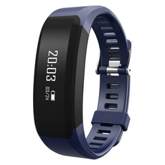 H28 Fitness Tracker Bluetooth Smart Bracelet for iOS / Android Smart Phone Heart Rate / Anti-lost / Message Push / Pedometer / Sleep Monitor(Dark Blue)