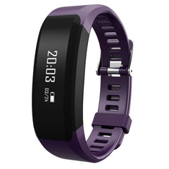 H28 Fitness Tracker Bluetooth Smart Bracelet for iOS / Android Smart Phone Heart Rate / Anti-lost / Message Push / Pedometer / Sleep Monitor(Purple)