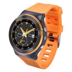ZGPAX S99 1.33 inch Touch Screen 3G Calling WiFi Bluetooth Android Smart Watch Android 5.1 Quad-Core 1.3GHz ROM: 8GB 5MP Camera Support GPS SMS MMS Clock Calendar Video Recording Music Play(Orange)