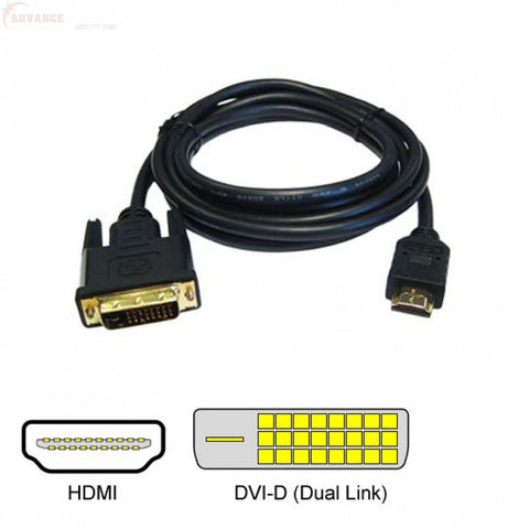 Hdmi Dvi 10M Cable