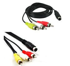 Rca:Rca(M) To S Video(M) 1.8 M Cable