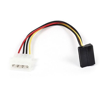 Power Molex To Sata 90 Degree L Shape