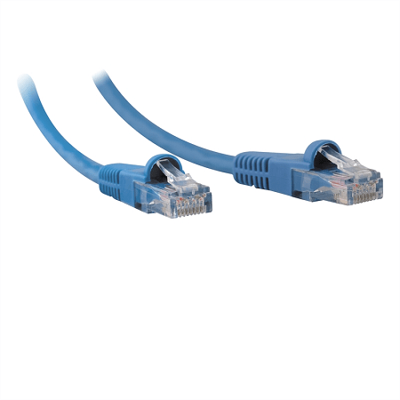5M Cat6 Flylead Blue