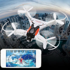 CX-36C Mini WiFi 360 Degree Flips 4-Channel 2.4GHz Radio Control Quadcopter with 2.0MP Camera & 6-axis Gyro & LED Light