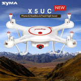 SYMA X5UC 360 Degree Flip 4-Channel 2.4GHz HD 720P Radio Control Quadcopter with 1MP Camera & 6-axis Gyro & LED Light & Remote Controller(White)