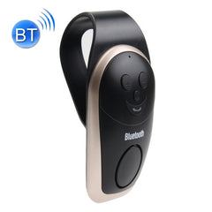 Car Sun Visors Smile Style Wireless Bluetooth Multipoint Speakerphone with Clip Support Hands-free Answer Phone(Gold)