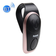 Car Sun Visors Smile Style Wireless Bluetooth Multipoint Speakerphone with Clip Support Hands-free Answer Phone(Rose Gold)