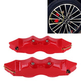 2 PCS High Performance Brake Decoration Caliper Cover Medium Size(Red)