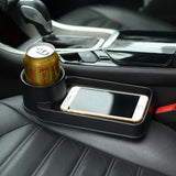 SHUNWEI SD-1511 Portable Multifunction Vehicle Car Cup Holder Cell Phone Holder Drinks Holder Glove Box Car Accessories(Black)