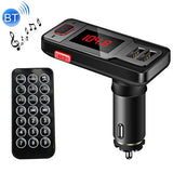 BT719 Bluetooth FM Transmitter Car MP3 Player with LED Display & Remote Control Support Double USB Charge & Handsfree & TF Card & U Disk Music Play Function