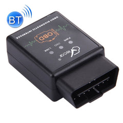 Viecar VC002-B Mini OBDII ELM327 Bluetooth Car Scanner Diagnostic Tool Support Android / Symbian / Windows(Black)
