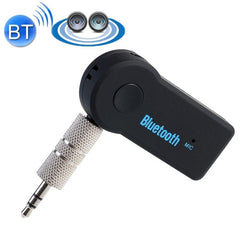 Portable Stereo BT 310 Bluetooth Wireless Music Receiver Mini Boombox for iPhone / iPad / Car / Headphone / Stereo Support Bluetooth Hands-free(Black)