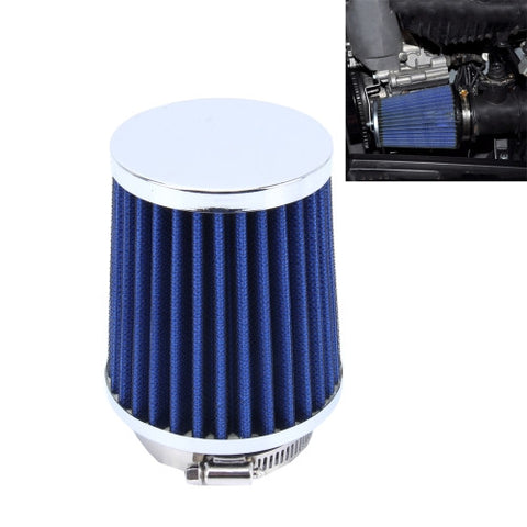 HKS 5cm Universal Mushroom Head Style Air Filter for Car(Blue)