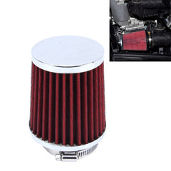 HKS 5cm Universal Mushroom Head Style Air Filter for Car(Red)