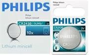 Philips Minicells Battery CR2430 Lithium-Sold as Box of 10