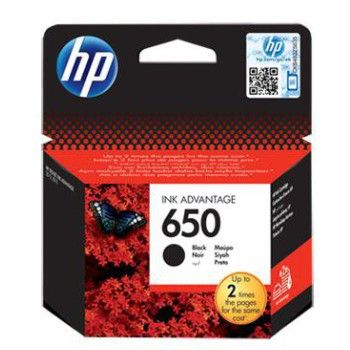 Hp # 650 Black Ink Cartridge