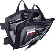 Promate Camero.Bp-4-in-1 Bag for 15.6  inch Laptops with Back / Hand / Messenger and Trolley Bag fitting
