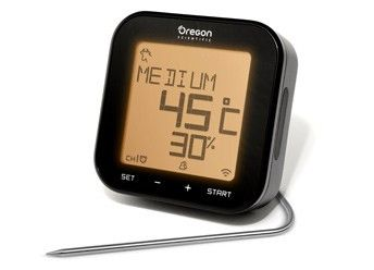 GRILL RIGHT Bluetooth BBQ Thermometer - Oregon Scientific